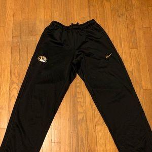 Men's Mizzou Tigers Nike Sweatpants